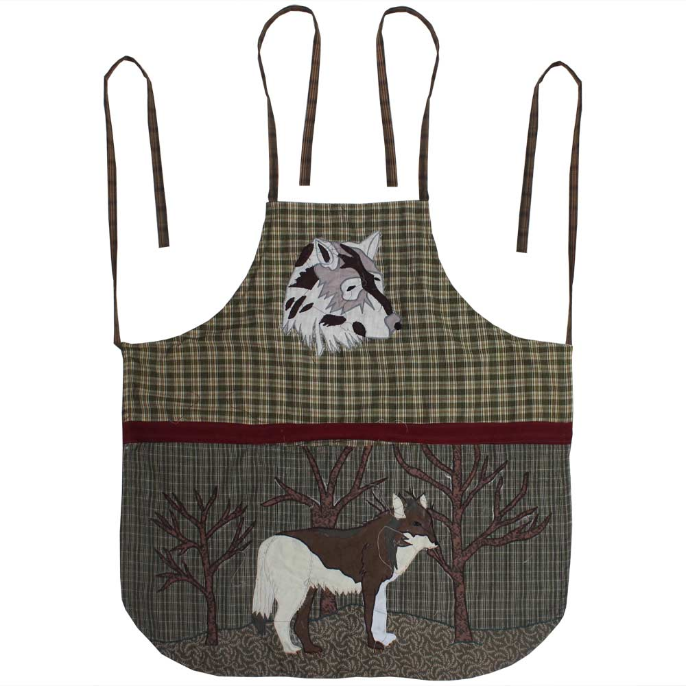 "Call of the Wild Apron 27""W x 29""L"