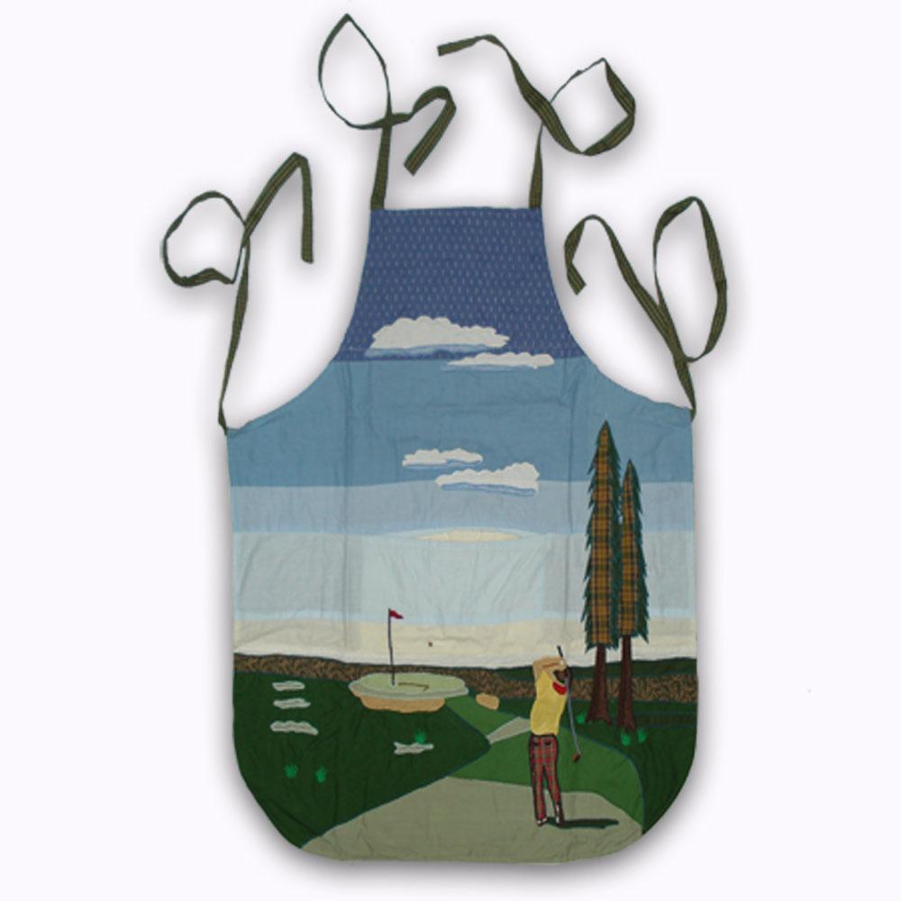 "Golf a Gift Apron 27""W x 29""L"