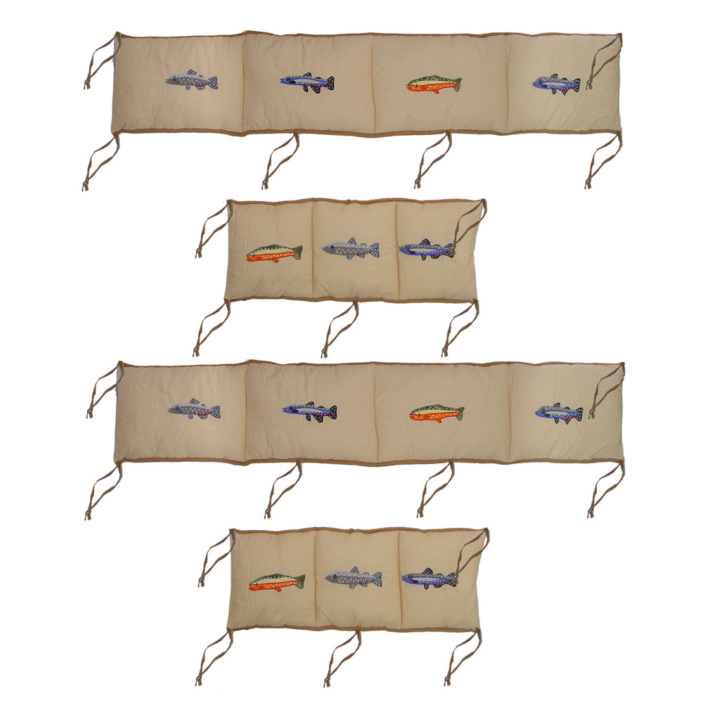 "Fly Fishing Bumper Pads 10""x52"" & 10""x25"" 2 EA"