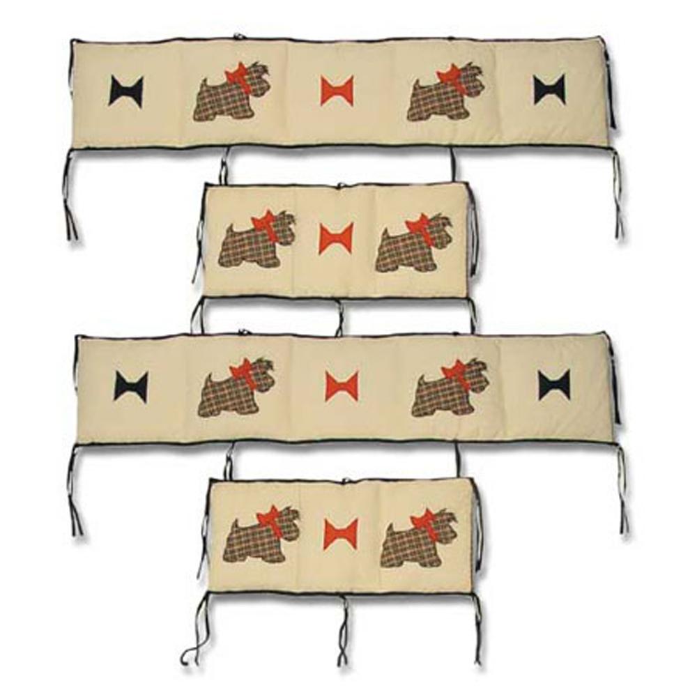 "Scottie Bumper Pads 10""x52"" & 10""x25"" 2 EA"