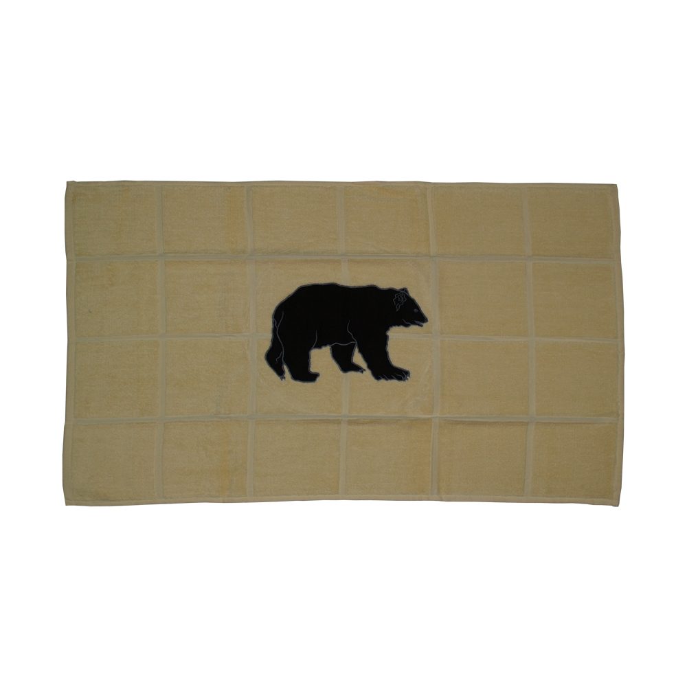 "Bear Country Bath Mat 34""W x 21""L"