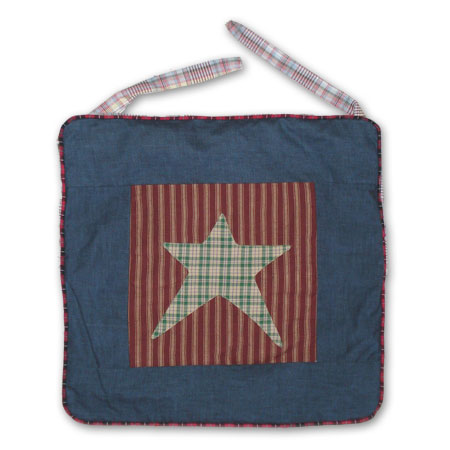 "Allstar chair pad 16""w x 16""l"