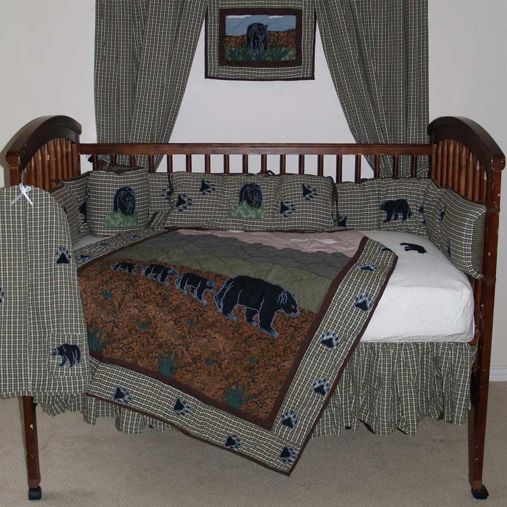 Bear Country Crib Set 6 Pieces