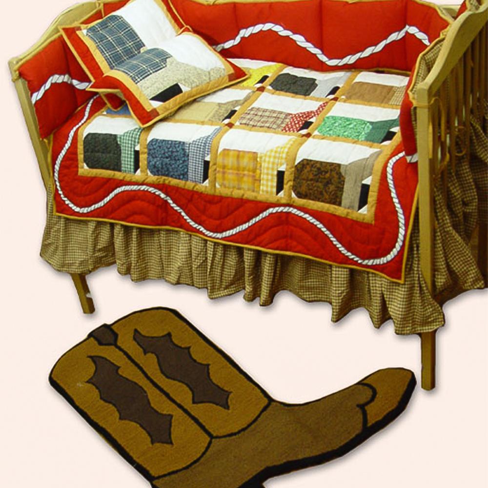 Boots Crib Set 6 Pieces