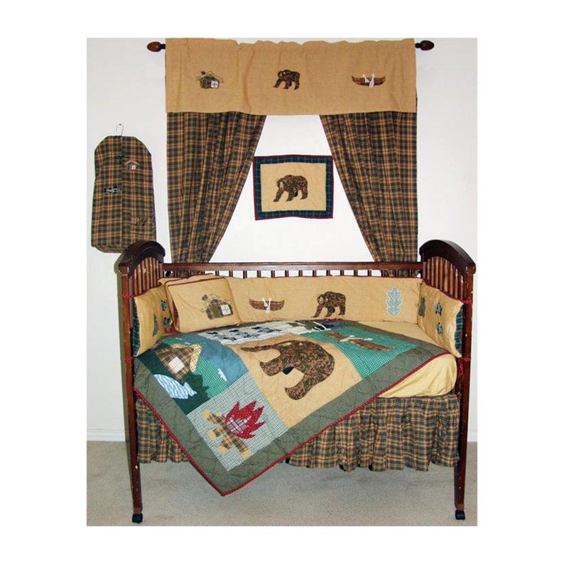 Cabin Crib Set 6 Pieces