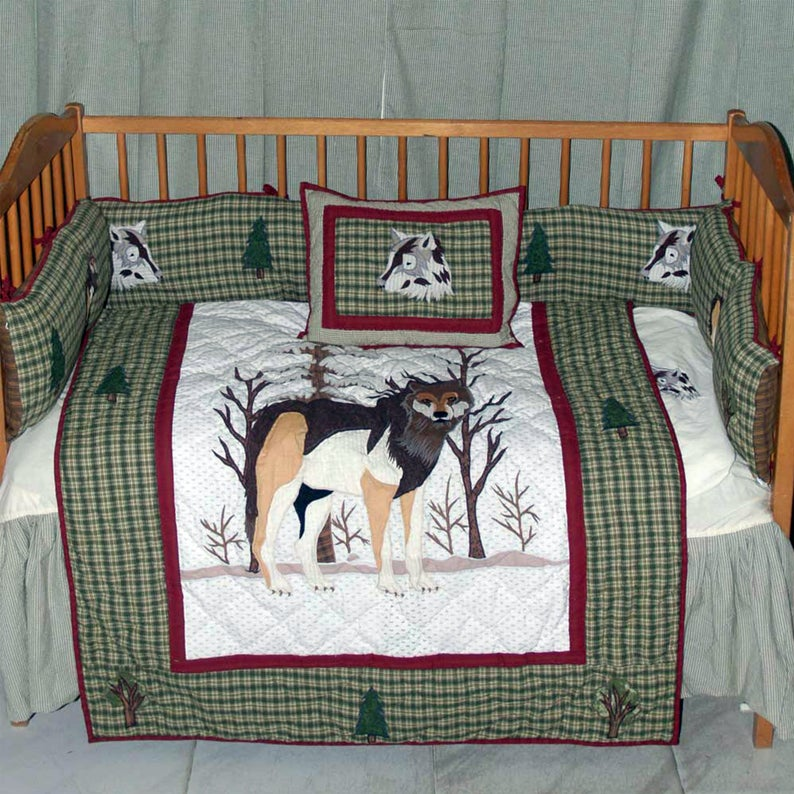 Call of the Wild Crib Set 6 Pieces