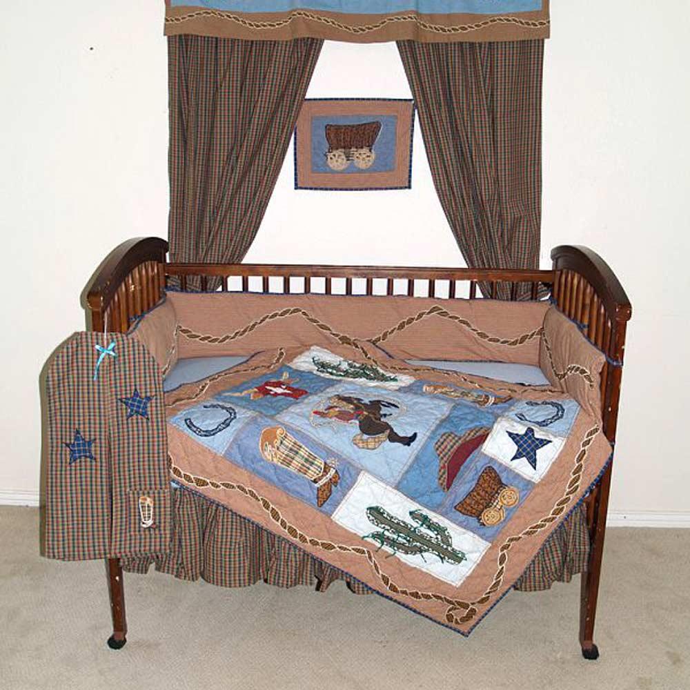 Cowgirl Crib Set 6 Pieces
