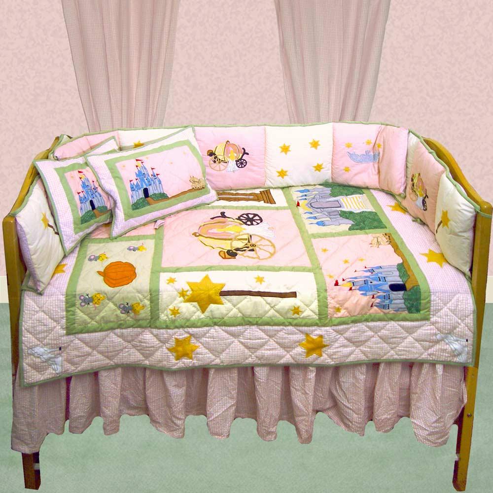 Fairy Tale Princess Crib Set 6 Pieces