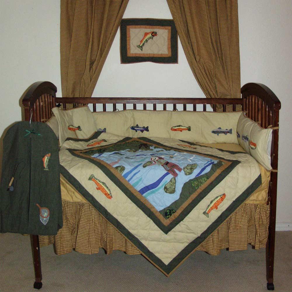 Fly Fishing set Crib Set 6 Pieces