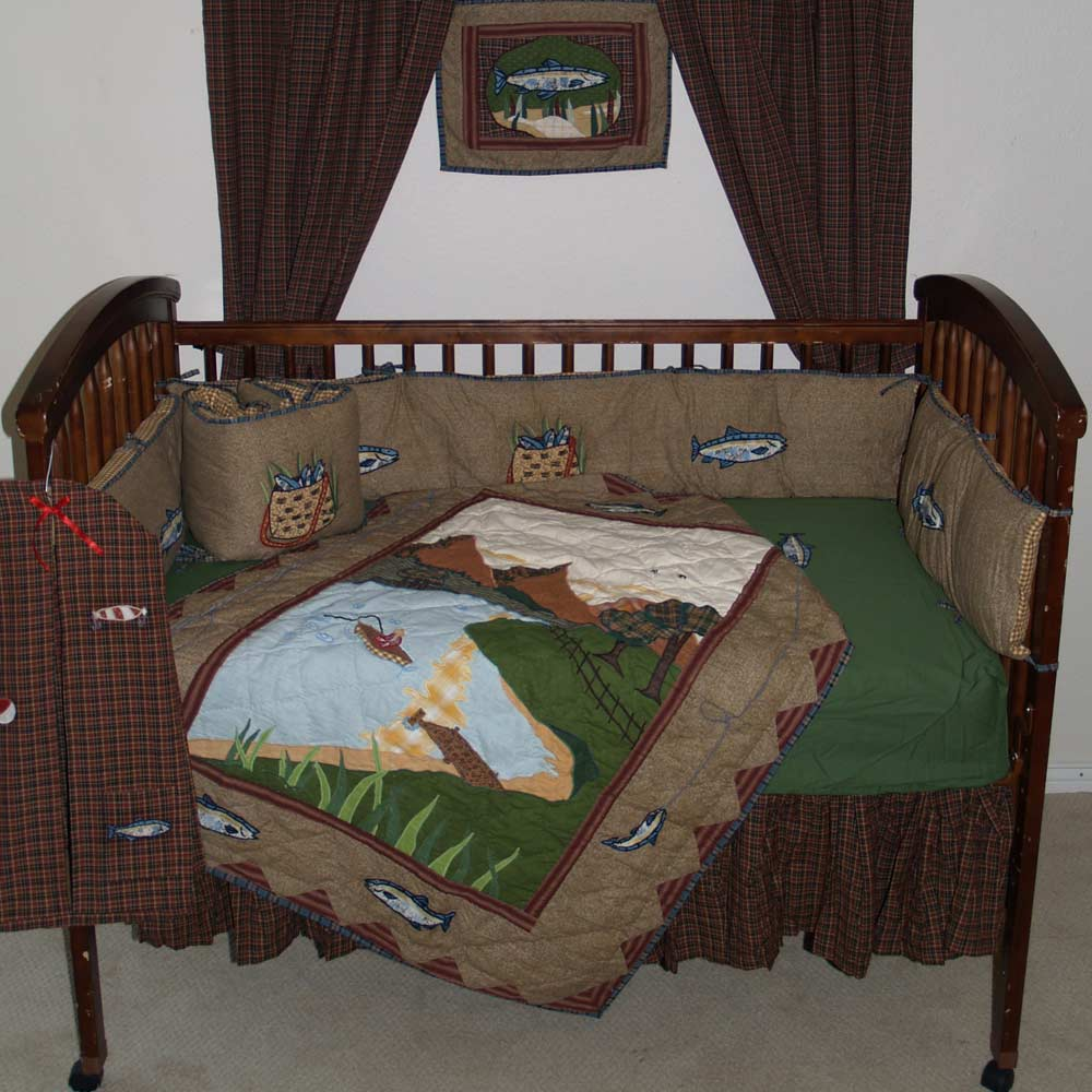Gone Fishing set Crib Set 6 Pieces
