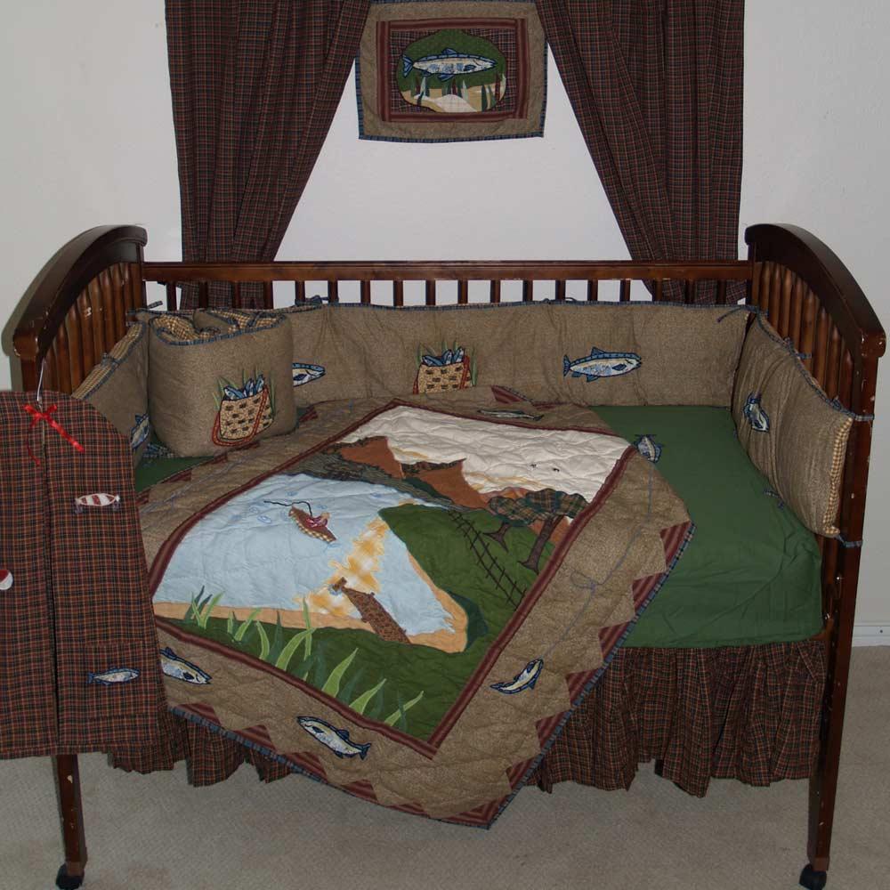 Gone Fishing set Crib Set 6 Pieces