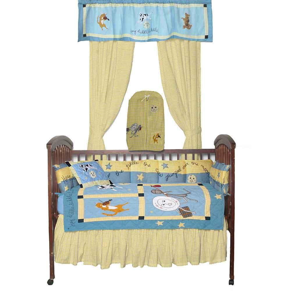 Hey Diddle Diddle Crib Set 6 Pieces