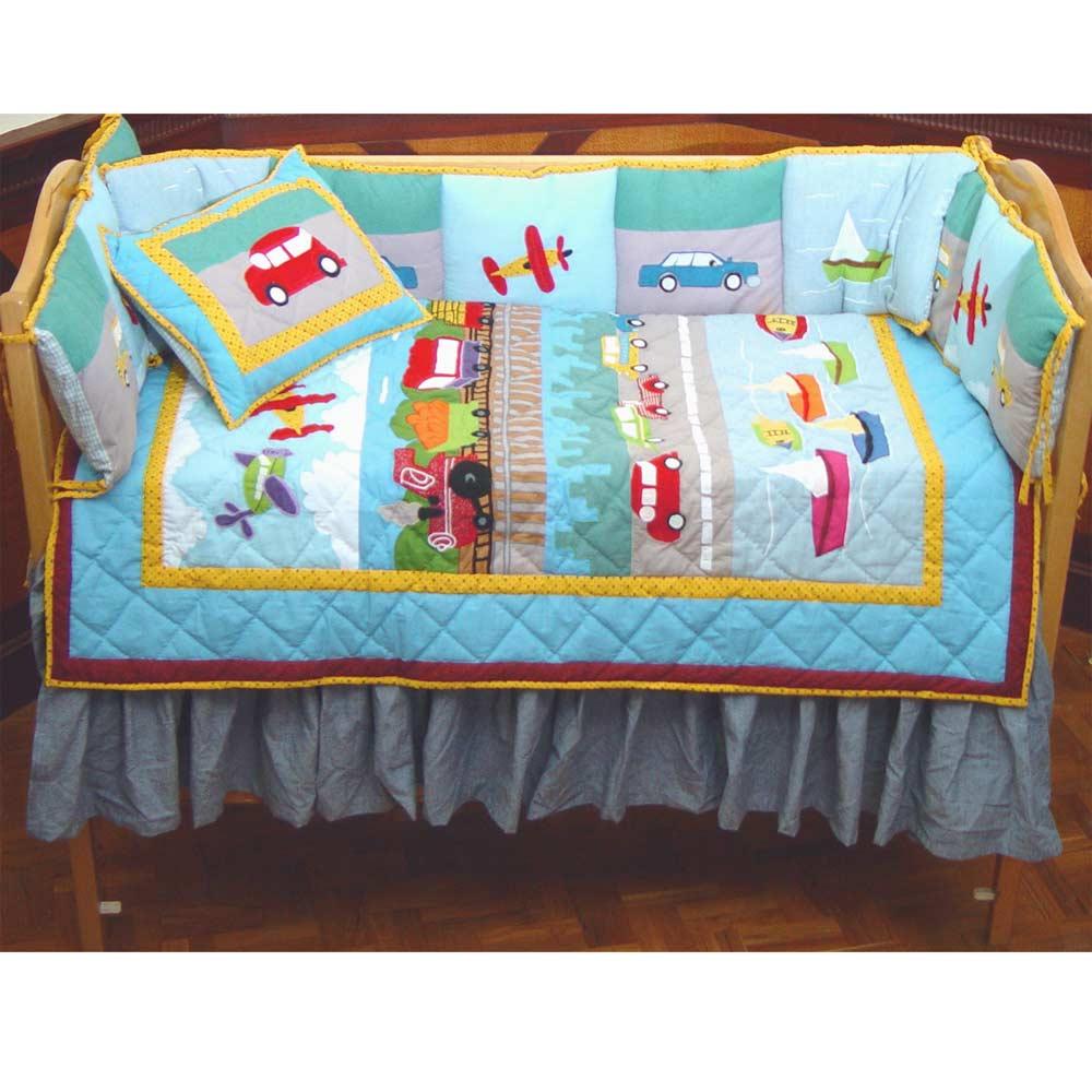 Junior Travel Crib Set 6 Pieces
