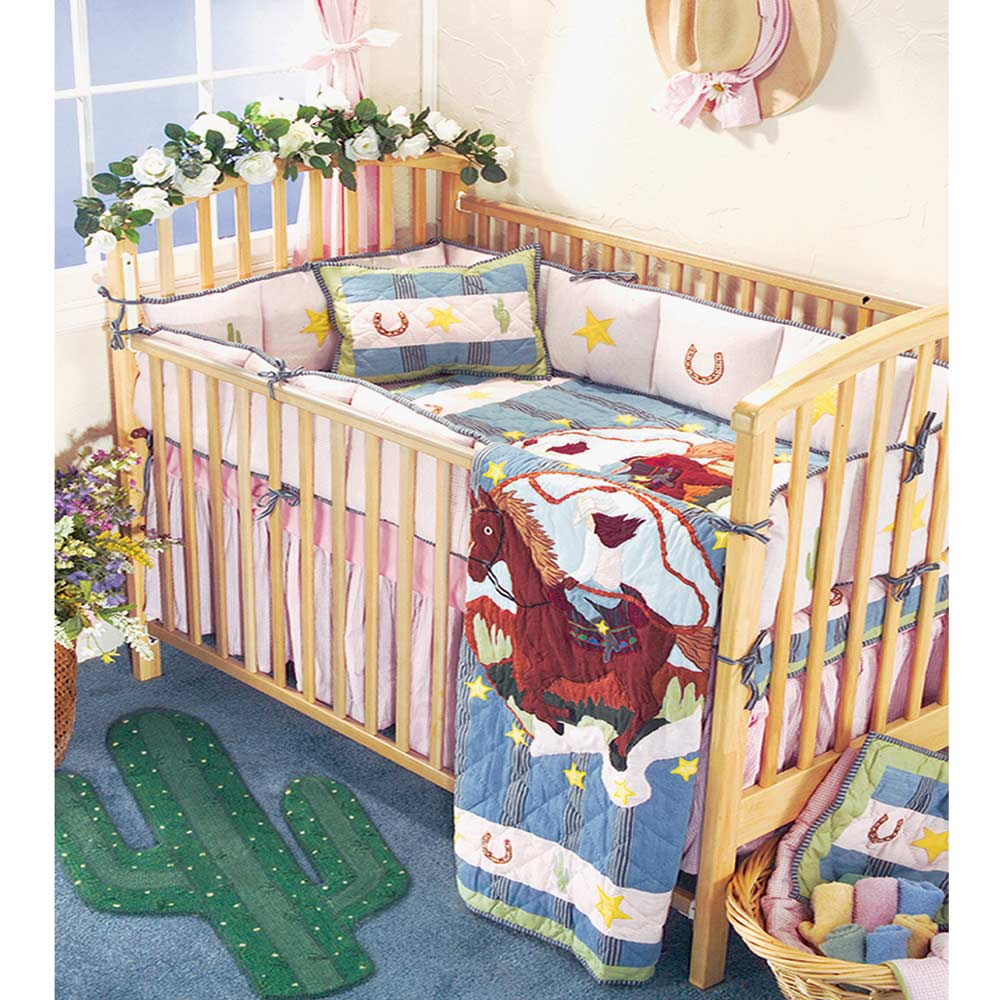 Lil Yeeehaw Crib Set 6 Pieces