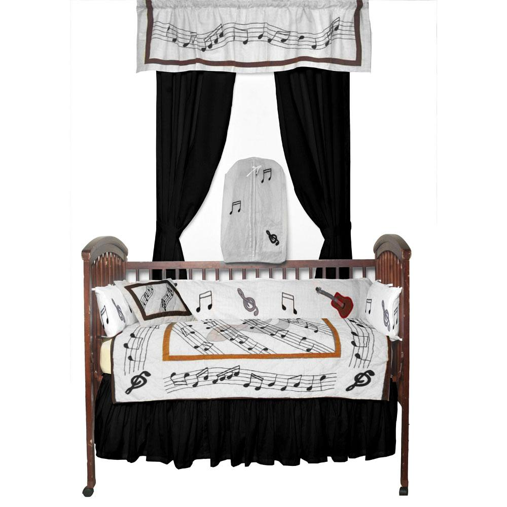 Music Crib Set 6 Pieces