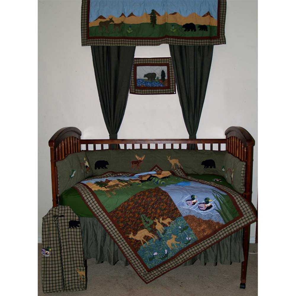 Natures Splendor Crib Set 6 Pieces
