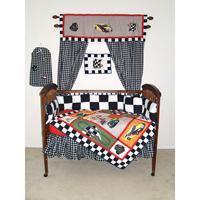Racecar Crib Set 6 Pieces