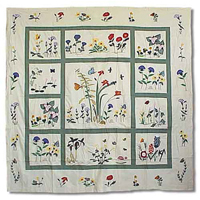 "Wildflower Shower Curtain 72""W x 72""L"