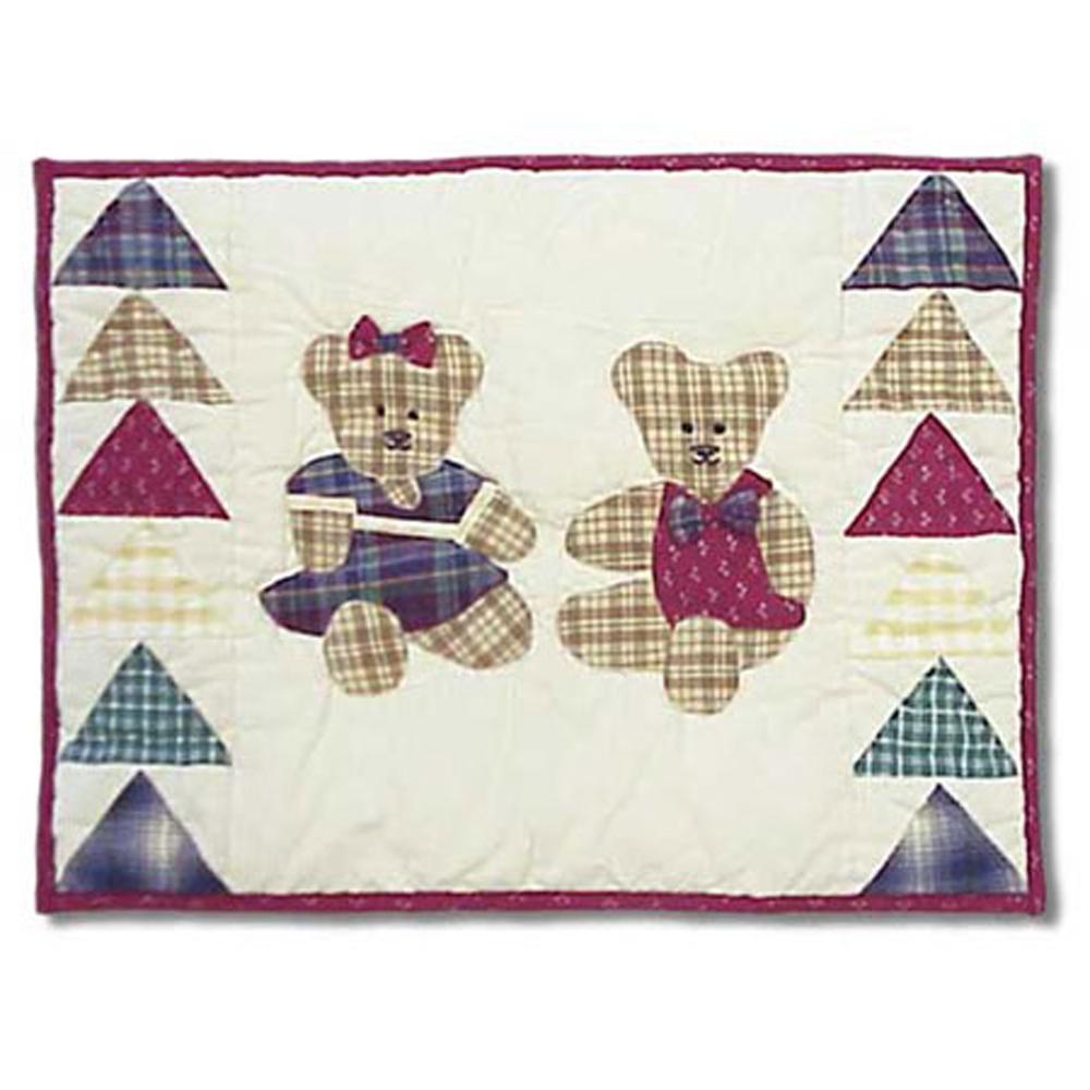 """Brown Bear Lumbar/Neck Pillow 12""""w x 16""""l"""