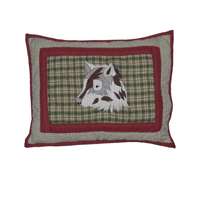"Call of the Wild Crib Pillow 12""W x 16""L"