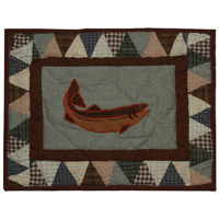 "Mountain Whispers Crib Pillow 12""W x 16""L"