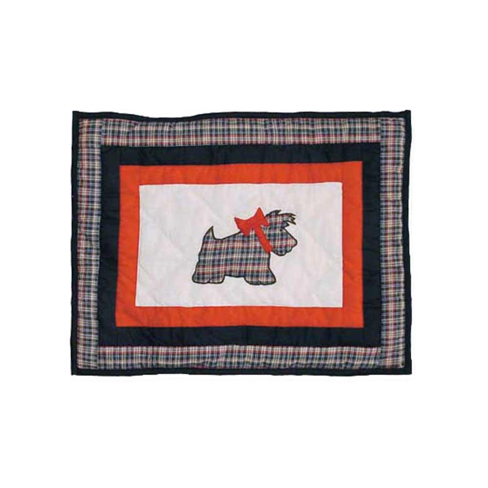 """Scottie Crib Pillow 12""""W x 16""""L"""
