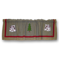 "Call of the Wild Curtain Valance 54""W x 16""L"