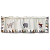 "Mountain Whispers Curtain Valance 54""W x 16""L"