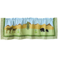 "Natures Splendor Curtain Valance 54""W x 16""L"