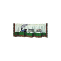 "Train Curtain Valance 54""W x 16""L"