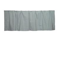 "Light Green Hairline Stripe Curtain Valance 54""W x 16""L"