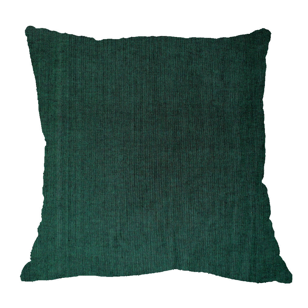 "Hunter Green Chambray Euro Sham 26""W x 26""L Regular"