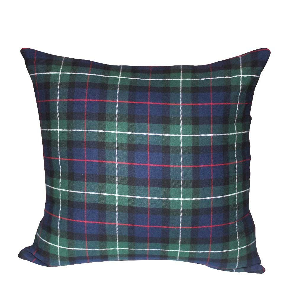 "Tartan Plaid,Fabric Euro Shams 26""W x 26""L Regular"