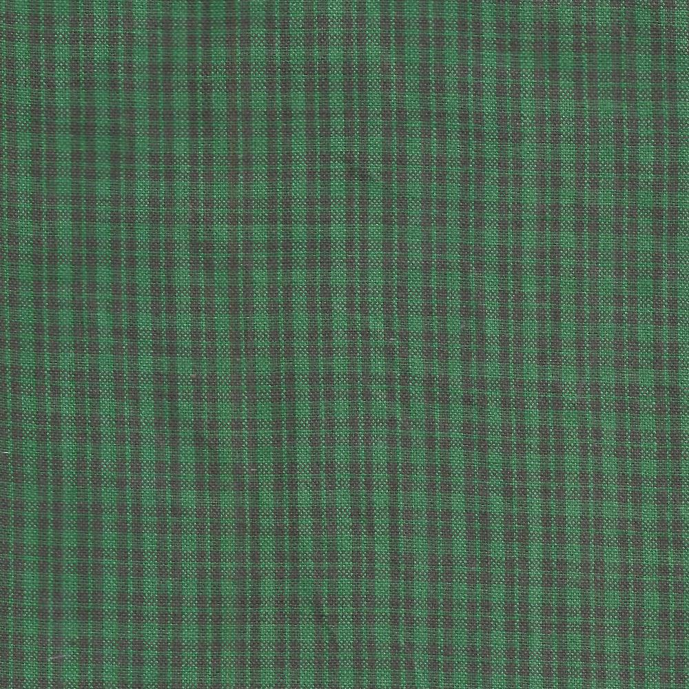 Green & black checks fabrics by the yard