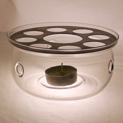 Round Shaped pot -metal holder