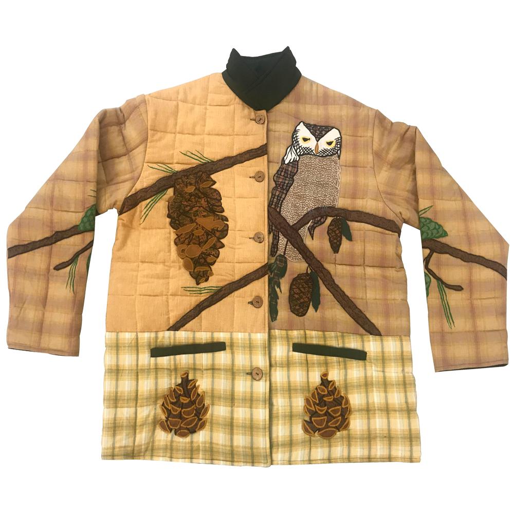 Pinecone  Plus Size Jacket- 3X
