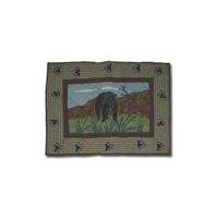 "Bear Country king sham 31""w x 21""l"