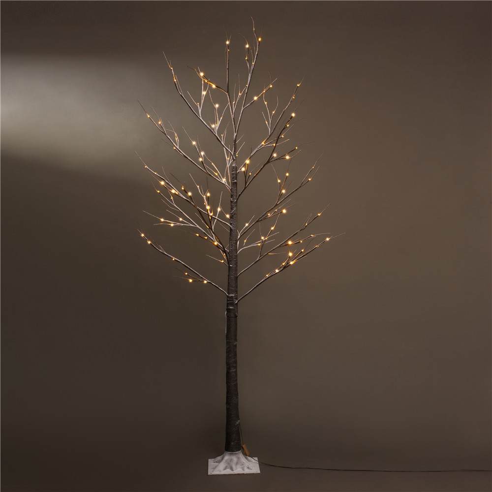 Led Tree 7 ft Snow Christmas Tree