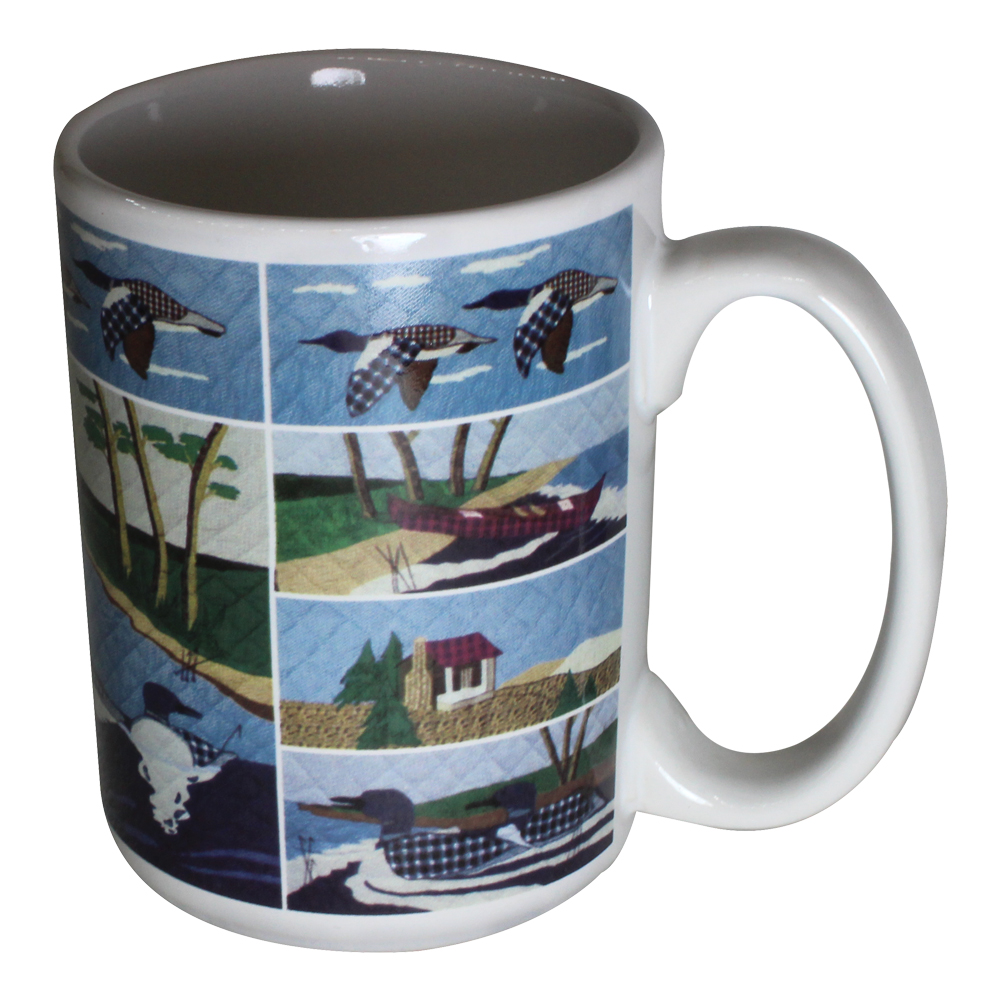 Patchmagic Loon Mug-450ml