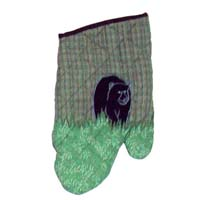 "Bear Country Oven Mitt 7""W x 12""L"