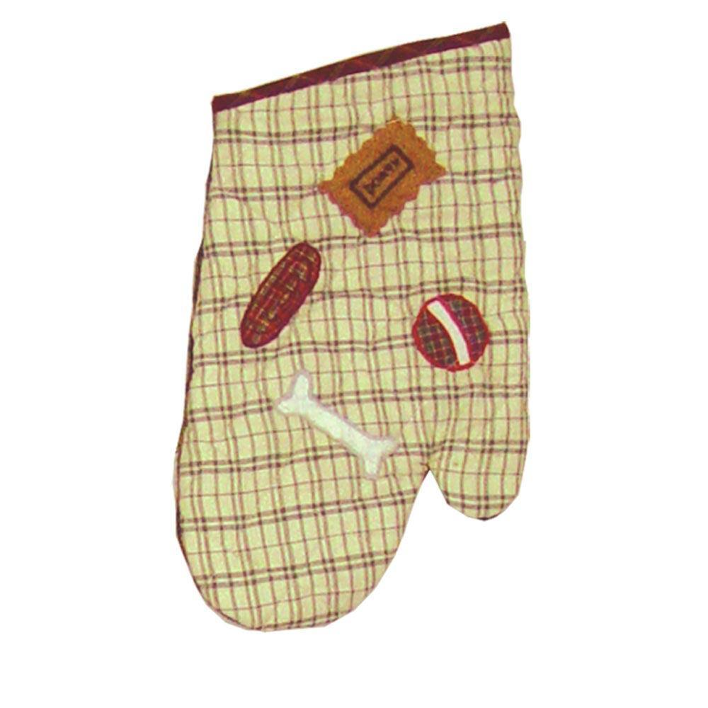 "Black Lab Oven Mitt 7""W x 12""L"