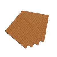 """Golden Rod Plaid Fabric Napkin 20""""W x 20""""L"""