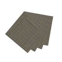 "Green Sage Plaid Fabric Napkin 20""W x 20""L"