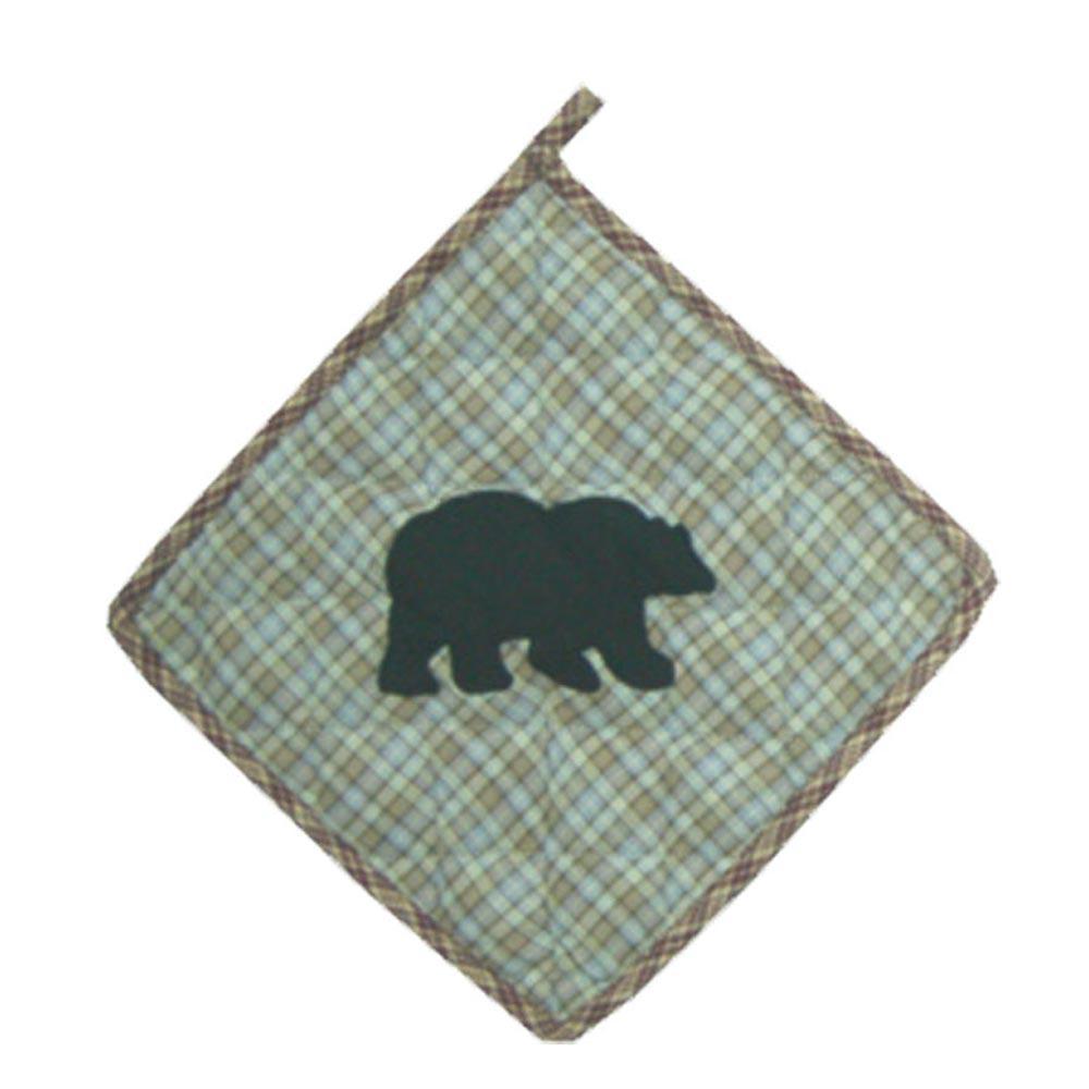 "Bear's Paw Pot Holder 8""W x 8""L"