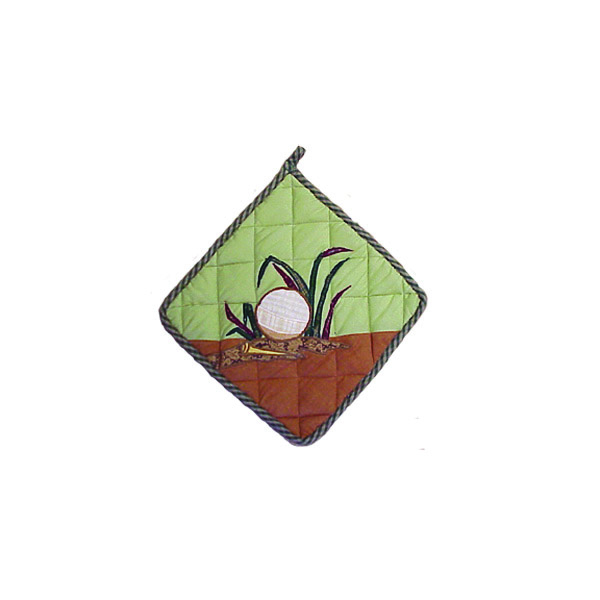 "Golf Pot Holder 8""W x 8""L"