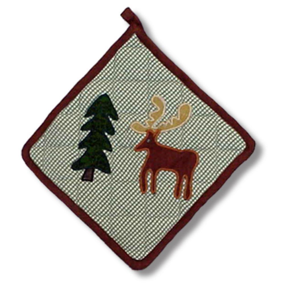 "Moose Pot Holder 8""W x 8""L"