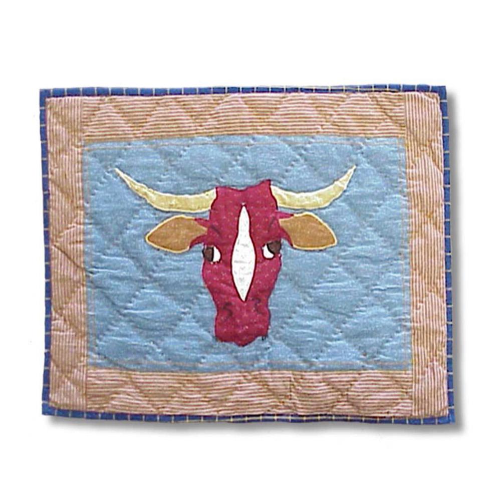 "Cowboy long horn Place Mat 13""W x 19""L"