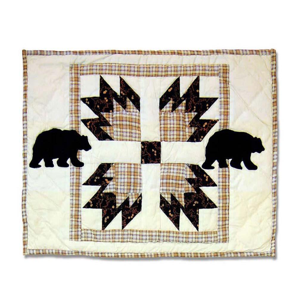 "Bear's Paw Place Mat 13""W x 19""L"