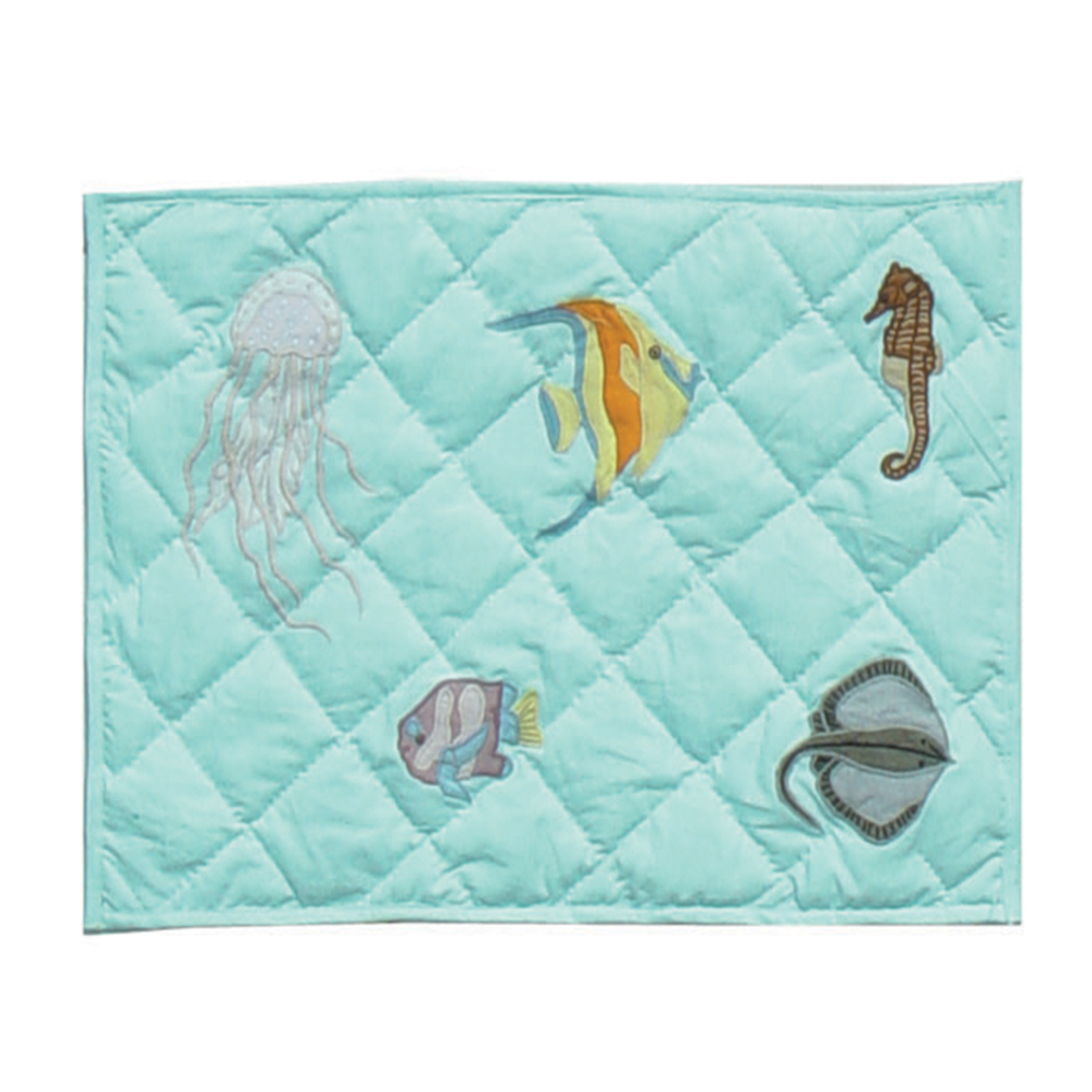 "Underwater Haven Place Mat 13""W x 19""L"