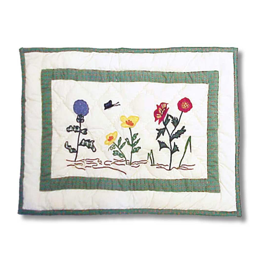 "Wildflower Place Mat 13""W x 19""L"